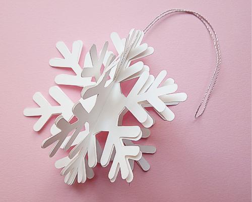 Fiocchi Di Neve Di Carta Facili : Guida al papercraft fioccano le decorazioni di natale