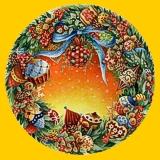 Gli oggetti in ceramica decorati con soggetti natalizi rappresentano ...